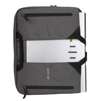 "Allsop Cool Medal Jacket Notebook Case Fits Screens up to 15.4"" - Dark Gray"