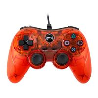 TTX Tech Wired PS3 Controller - Clear Red
