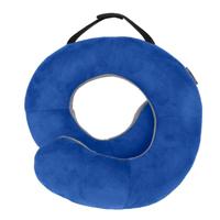 Travelon Deluxe Wrap N Rest Pillow - Cobalt/Gray