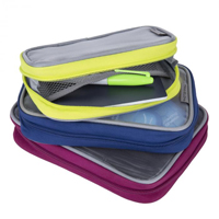 Travelon Set of 3 Packing Squares - Bold Color