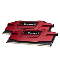 G.Skill Ripjaws V 8GB 2 x 4GB DDR4-2400 PC4-19200 CL15 Dual Channel Desktop Memory Kit