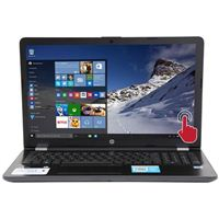 """HP 15-bs168cl 15.6"""" Laptop Computer Refurbished - Gray"""