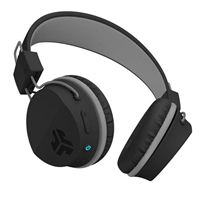 JLab Neon Wireless On-Ear Headphones - Black