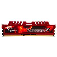G.Skill Ripjaws X 8GB DDR3-1600 PC3-12800 CL10 Single Channel Desktop Memory Module - Red
