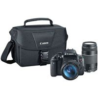 Canon Rebel T6i Digital SLR Camera Kit with 18-55mm/75-300mm Lens