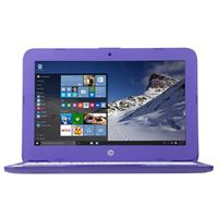 "HP Stream 11-ah120nr 11.6"" Laptop Computer - Purple"