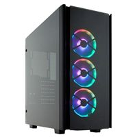 Corsair Obsidian 500D RGB SE Tempered Glass ATX Mid-Tower Computer Case - Black