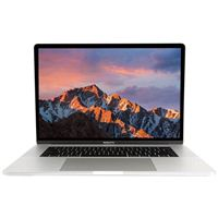 "Apple MacBook Pro with Touch Bar FPTU2LL/A 15.4"" Laptop Computer Refurbished - Silver"