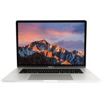 "Apple MacBook Pro with Touch Bar FPTV2LL/A 15.4"" Laptop Computer Refurbished - Silver"