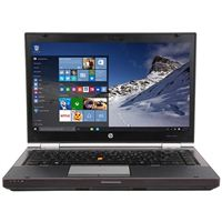 "HP EliteBook 8470W Mobile Workstation 14"" Laptop Computer Refurbished - Black"