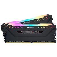 Corsair Vengeance RGB PRO 16GB 2 x 8GB DDR4-3600 PC4-28800 CL18 Quad Channel Desktop Memory Kit