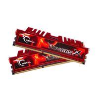 G.Skill Ripjaws X 16GB 2 x 8GB DDR3-1600 PC3-12800 CL10 Dual Channel Desktop Memory Kit - Red