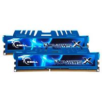 G.Skill Ripjaws X 16GB 2 x 8GB DDR3-1600 PC3-12800 CL9 Dual Channel Desktop Memory Kit - Blue