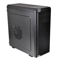Thermaltake V100 ATX Mid-Tower Computer Case - Black