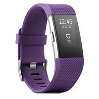 FitBit Charge 2 Fitness Tracker Small - Plum