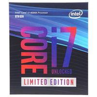 Intel Core i7-8086K Coffee Lake 5.0 GHz LGA 1151 Limited Edition Boxed Processor
