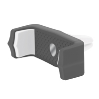Aduro Grip Clip Vent Mount Phone Holder - Black/ White