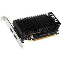 MSI GeForce GT 1030 Overclocked 2GHD4 Low Profile 2GB DDR4 PCIe  Video Card