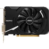 MSI RX 560 AERO ITX Overclocked Single-Fan 4G GDDR5 PCIe Video Card