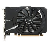 MSI AERO ITX Radeon RX-550 Overclocked Single-Fan 4GB GDDR5 PCIe Video Card