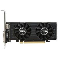 MSI Radeon RX-550 Low-Profile Overclocked Dual-Fan 4GB GDDR5 PCIe Video Card