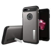 Spigen Slim Armor Case for iPhone 8 Plus/ iPhone 7 Plus - Gunmetal
