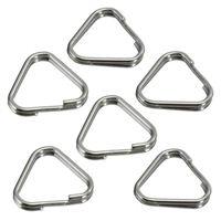 Dot Line Hama Split Rings, Triangular, 12mm, Pk of 6