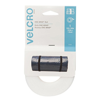 "Velcro ONE - WRAP Roll 12' x 3/4"" - White"