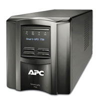 APC SMT750R 750 VA 500W 6 Outlet UPS w/ LCD Display - Refurbished