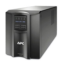 APC SMT1000R 1000 VA 700W 8 Outlet UPS w/ LCD Display - Refurbished