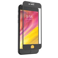 Zagg Invisible Shield Glass+ Luxe for the iPhone iPhone 8/7/6 - Black