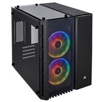 Corsair Crystal 280X RGB Tempered Glass mATX Mini-Tower Computer Case