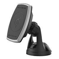 Scosche Industries MagicMount Pro Charge Suction Mount Magnetic Phone Holder - Black
