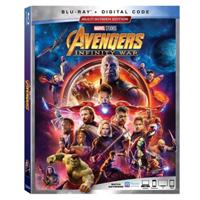 Disney Avengers Infinity War Blu-ray