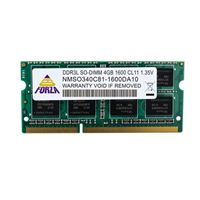 Neo Forza Neo Forza 4GB DDR3L-1600 PC3-12800 CL11 Single Channel SO-DIMM Memory Module