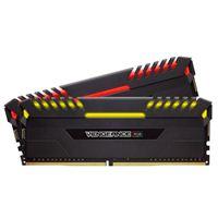 Corsair Vengeance RGB 16GB 2 x 8GB DDR4-3200 PC4-25600 CL16 Dual Channel Desktop Memory Kit