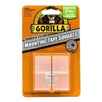 Gorilla Glue Mounting Tape Square 1 in. 24 pack