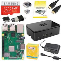 CanaKit Complete Starter Kit for Raspberry Pi 3 Model B+ - 32GB EVO Edition