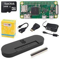 CanaKit Starter Kit with Premium Black Case for Raspberry Pi Zero W