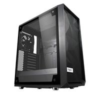 Fractal Design Meshify C Tempered Glass ATX Mid-Tower Computer Case - Black
