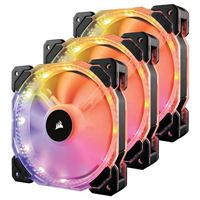 Corsair HD120 RGB 120mm Case Fan Refurbished - 3 Pack