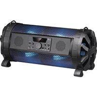 Sylvania 2.1 CH Bluetooth Speaker w/LED Light & Subwoofer - Black