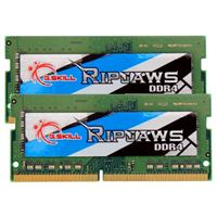G.Skill Ripjaws 16GB 2 x 8GB DDR4-2666 PC4-21300 CL19 Dual Channel SO-DIMM Memory Kit