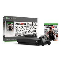 Microsoft Xbox One X 1TB Console with NBA 2K19