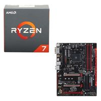 AMD Ryzen 7 1800X, Gigabyte GA-AB350-Gaming 3 CPU/Motherboard Bundle
