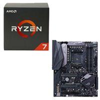 AMD Ryzen 1700X, ASUS ROG Crosshair VI Hero X370 CPU/Motherboard Bundle