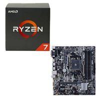 AMD Ryzen 1700X, ASUS PRIME B350M-A/CSM CPU/Motherboard Bundle