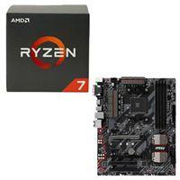 AMD Ryzen 1700X, MSI B350 Tomahawk CPU/Motherboard Bundle