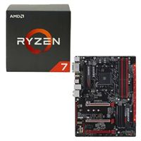 AMD Ryzen 1700X, Gigabyte GA-AB350-Gaming 3 CPU/Motherboard Bundle