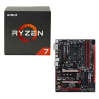AMD Ryzen 1700 Wraith, Gigabyte GA-AB350-Gaming 3 CPU/Motherboard Bundle